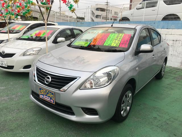 沖縄の中古車 日産 ラティオ 車両価格 55万円 リ済別 2012(平成24)年 7.1万km シルバー