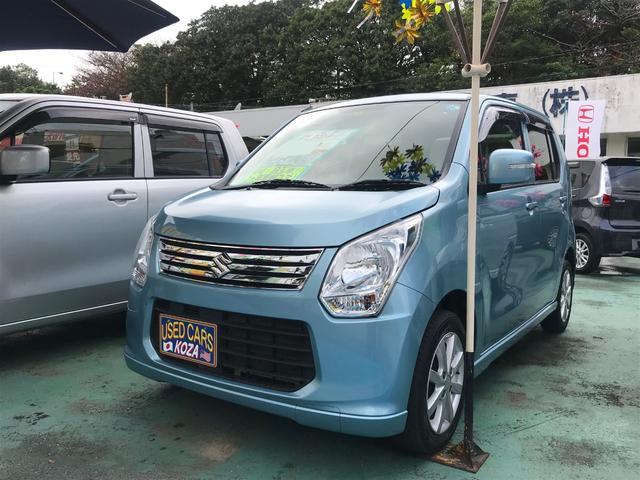 沖縄県の中古車ならワゴンR FXリミテッド ワンセグナビ