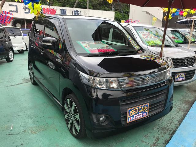 沖縄県沖縄市の中古車ならワゴンRスティングレー リミテッドII 社外ナビTV