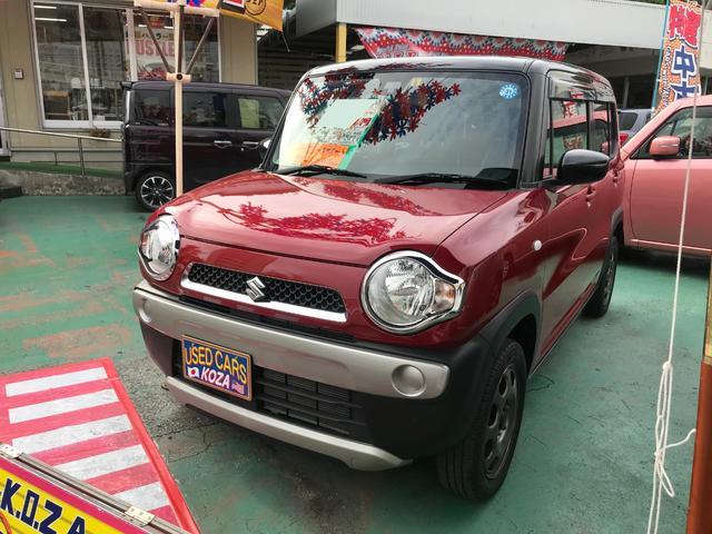 沖縄県沖縄市の中古車ならハスラー G レーダーブレーキサポート