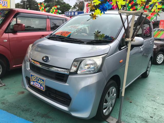 沖縄の中古車 スバル ステラ 車両価格 54万円 リ済別 2013(平成25)年 8.7万km シルバー