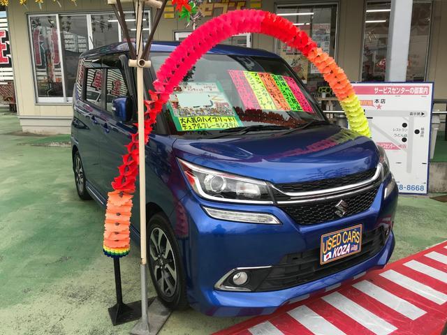 沖縄県の中古車ならソリオバンディット ハイブリッドMV デュアルブレーキシステム