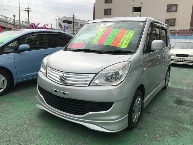 沖縄の中古車 スズキ ソリオ 車両価格 59万円 リ済別 2013(平成25)年 6.8万km シルバー