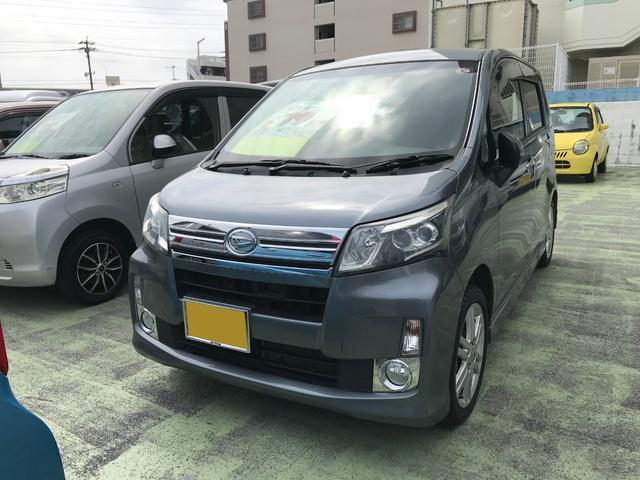 沖縄県の中古車ならムーヴ カスタム RS SA ナビTV