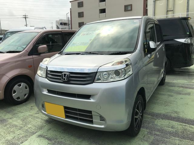 沖縄の中古車 ホンダ ライフ 車両価格 52万円 リ済別 2012(平成24)年 8.3万km シルバーM