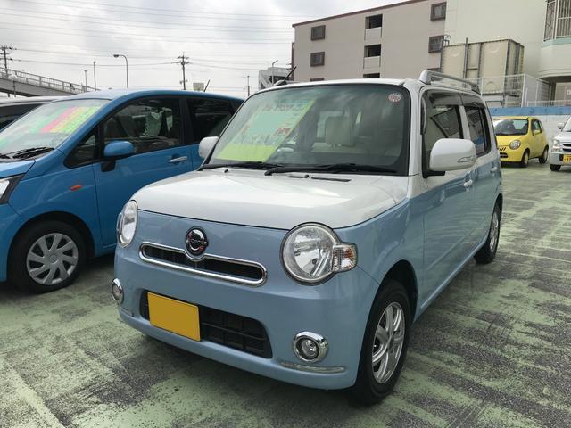 沖縄県の中古車ならミラココア ココアプラスXスペシャルコーデ ナビTV