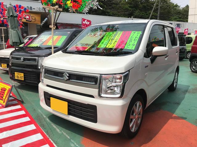 沖縄県の中古車ならワゴンR ハイブリッドFX アイドリングストップ