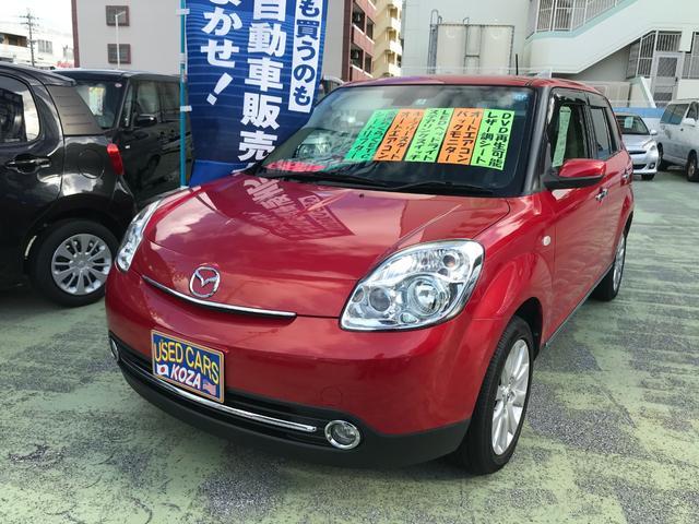 沖縄の中古車 マツダ ベリーサ 車両価格 69万円 リ済別 2013(平成25)年 5.9万km レッド