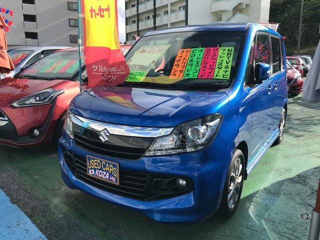 沖縄県の中古車ならソリオバンディット DJE 社外ナビTV