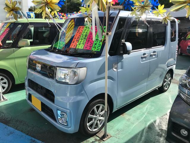 沖縄県の中古車ならウェイク L SAII アイドリングストップ