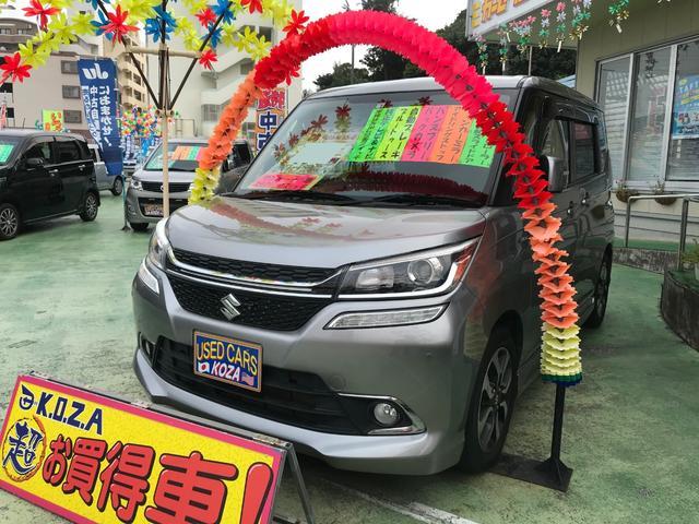 沖縄県の中古車ならソリオバンディット ハイブリッドMV 純正ナビTV バックモニター