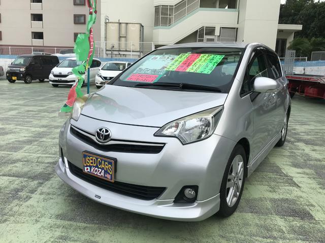 トヨタ ラクティス S モデリスタエアロパーツ 純正ナビTV