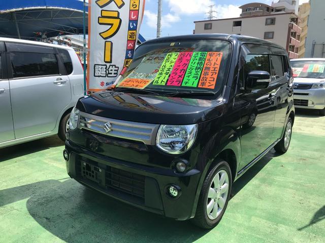 沖縄の中古車 スズキ MRワゴン 車両価格 66万円 リ済別 2013(平成25)年 8.1万km ブルーイッシュブラックパール3