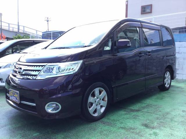 沖縄の中古車 日産 セレナ 車両価格 63万円 リ済別 2010(平成22)年 8.2万km パープル
