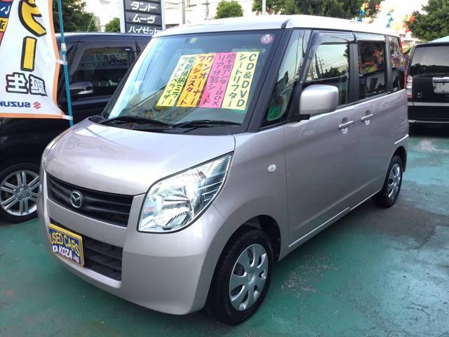 沖縄の中古車 マツダ フレアワゴン 車両価格 55万円 リ済別 2012(平成24)年 9.6万km ピンク