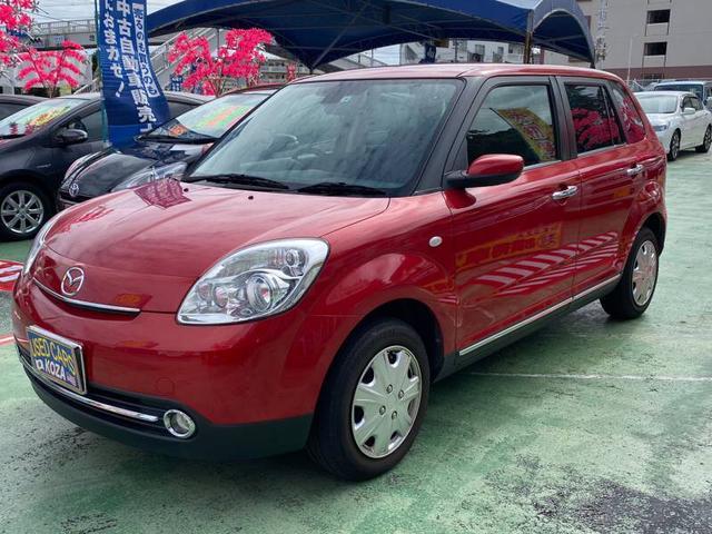 沖縄の中古車 マツダ ベリーサ 車両価格 53万円 リ済別 2012(平成24)年 5.1万km レッド