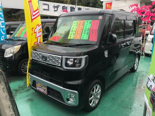 沖縄県沖縄市の中古車ならウェイク X 社外ナビTV バックモニター ターボ車