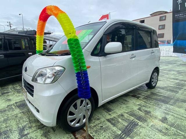 沖縄の中古車 スバル ルクラ 車両価格 52万円 リ済別 2012(平成24)年 9.7万km パールホワイトIII