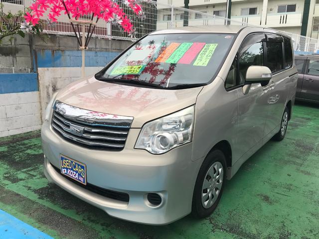 沖縄県沖縄市の中古車ならノア X ブルートゥース CD