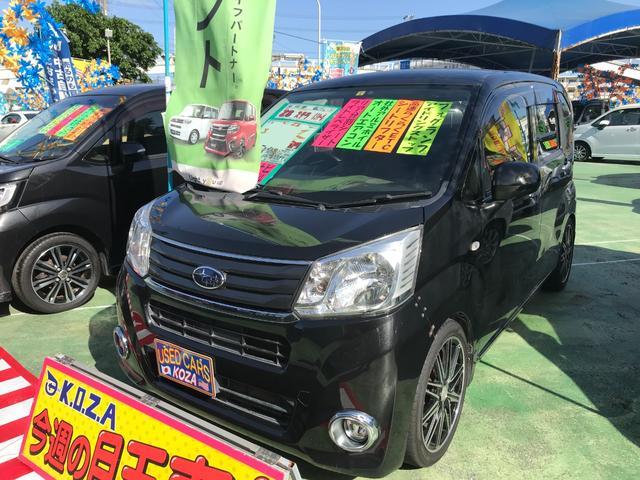 沖縄の中古車 スバル ステラ 車両価格 69万円 リ済別 2016(平成28)年 8.3万km ブラックマイカメタリック