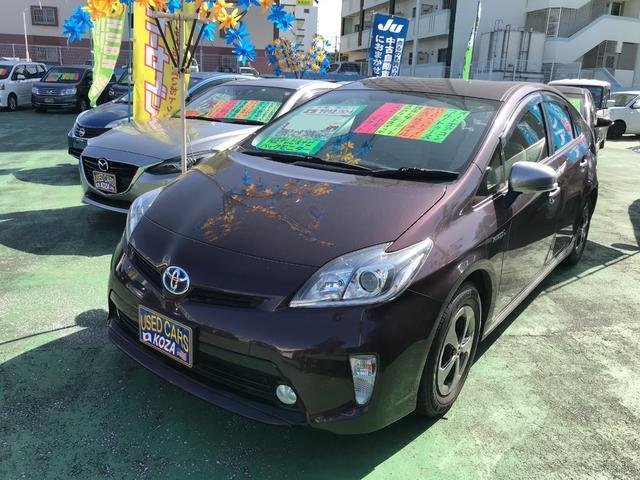 沖縄県の中古車ならプリウス Sマイコーデ 純正ナビTV バックモニター