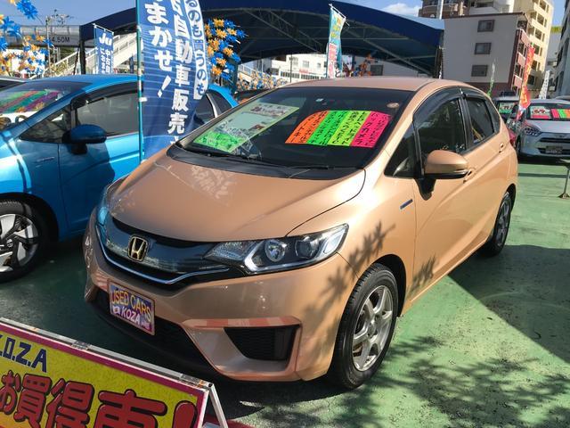 沖縄県の中古車ならフィットハイブリッド Lパッケージ 純正フルセグナビ バックモニター