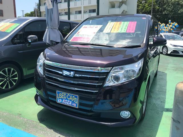 沖縄県沖縄市の中古車ならノア ハイブリッドG ブルートゥース ナビ 両側パワースライドドア