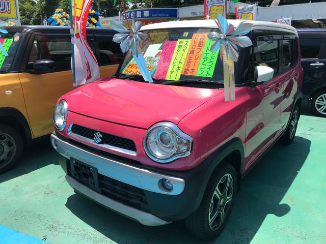 沖縄県沖縄市の中古車ならハスラー Xターボ アイドリングストップ