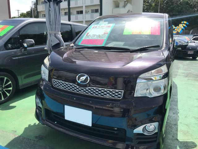 沖縄県沖縄市の中古車ならヴォクシー ZS 煌III 両側パワースライドドア