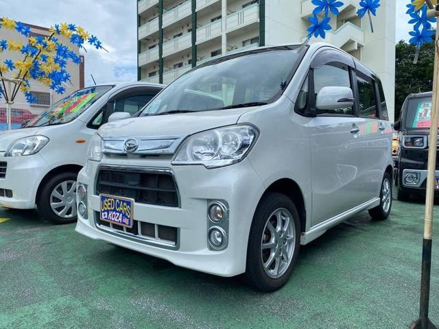 沖縄の中古車 ダイハツ タントエグゼ 車両価格 63万円 リ済別 2014(平成26)年 9.0万km パール
