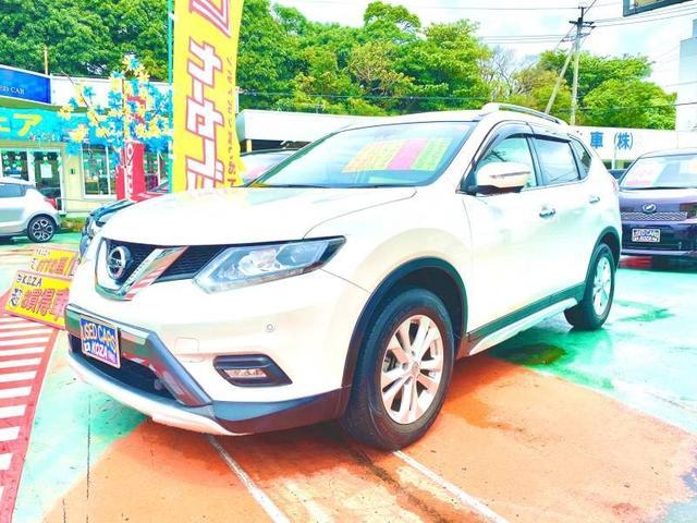 沖縄県の中古車ならエクストレイル 20X エマージェンシーブレーキパッケージ ナビ バックモニター
