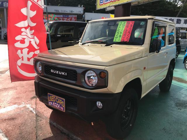 沖縄県の中古車ならジムニー XL スズキセーフティ