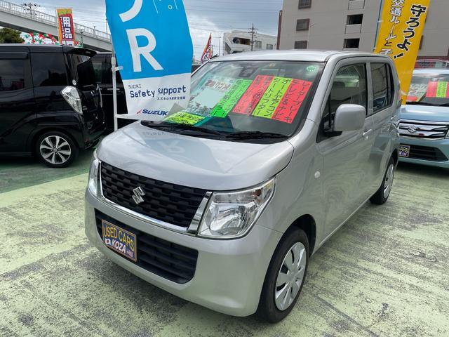 沖縄県の中古車ならワゴンR FX アイドリングストップ ナビTV レーダーブレーキサポート