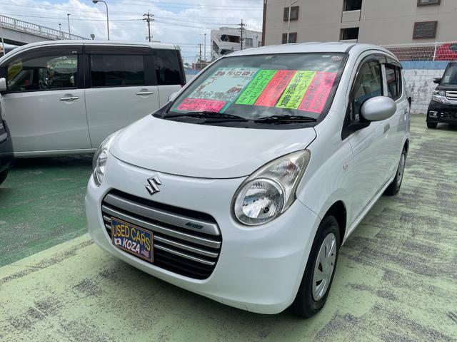 沖縄県の中古車ならアルトエコ ECO-S キーレス アイドリングストップ ETC 純正オーディオ