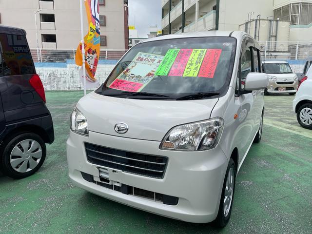 沖縄県の中古車ならタントエグゼ X アイドリングストップ
