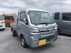 沖縄の中古車 ダイハツ ハイゼットトラック 車両価格 134万円 リ済別 平成29年 5K ブライトシルバーM