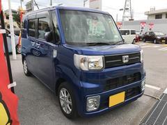 沖縄の中古車 ダイハツ ウェイク 車両価格 152万円 リ済別 平成28年 0.5万K ブルーマイカM