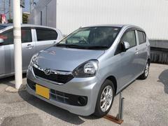 沖縄の中古車 ダイハツ ミライース 車両価格 115万円 リ済別 平成29年 1.0万K ブライトシルバーM