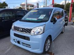沖縄の中古車 ダイハツ ムーヴ 車両価格 119万円 リ済別 平成27年 0.7万K シルキーブルーパール
