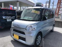 沖縄の中古車 ダイハツ タント 車両価格 130万円 リ済別 平成29年 1.4万K ブライトシルバーM