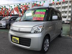 沖縄の中古車 スズキ スペーシア 車両価格 69万円 リ済込 平成25年 8.6万K シルキーシルバーメタリック