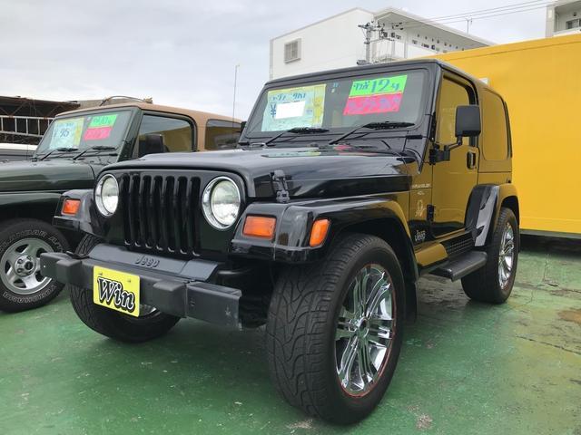 沖縄県の中古車ならクライスラージープ ラングラー サハラ 20インチアルミ