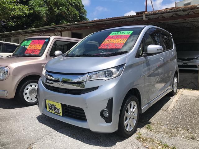 沖縄県の中古車ならeKカスタム G 新品タイヤ プッシュスタート