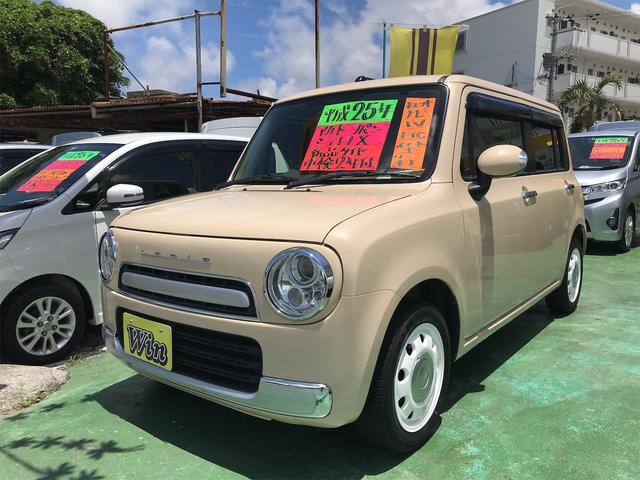 沖縄県沖縄市の中古車ならアルトラパンショコラ X ナビ ワンセグTV 新品タイヤ