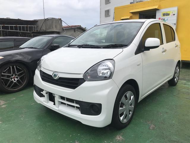 沖縄の中古車 ダイハツ ミライース 車両価格 39万円 リ済込 2016(平成28)年 7.9万km ホワイト