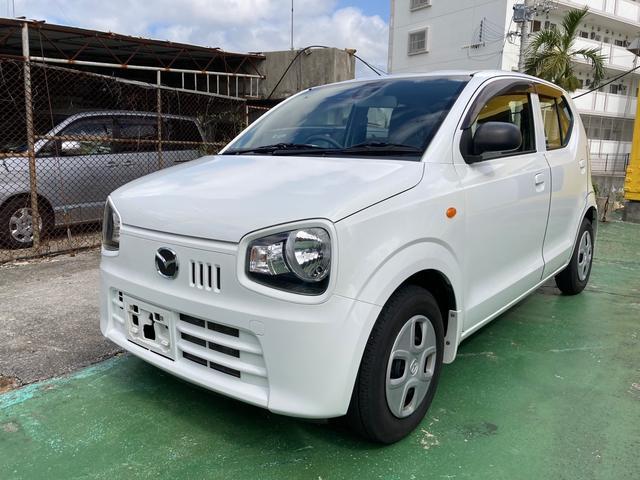 沖縄の中古車 マツダ キャロル 車両価格 39万円 リ済込 2016(平成28)年 6.7万km スペリアホワイト