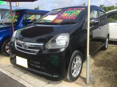 沖縄の中古車 ダイハツ ミライース 車両価格 54万円 リ済別 平成24年 7.0万K ブラック