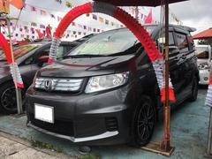 沖縄の中古車 ホンダ フリードスパイクハイブリッド 車両価格 118万円 リ済込 平成24年 9.6万K ポリッシュドメタルメタリック