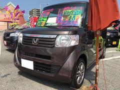 沖縄の中古車 ホンダ N BOX 車両価格 68万円 リ済込 平成25年 10.9万K プレミアムブロンズパールII