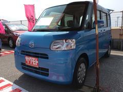 沖縄の中古車 ダイハツ タント 車両価格 48万円 リ済込 平成22年 9.4万K ファインブルーマイカメタリック